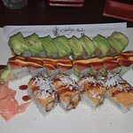 From top: M&L Roll, Valentine Roll, Shaky Dog Roll
