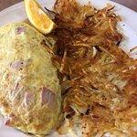 Denver omelette at American Pancake House