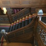 Main stairway at Tippecanoe Place