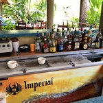 Small bar has everything you need!