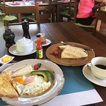 Breakfast! Free with room at Olas Verdes