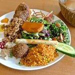 Fardos-Plate with Chicken Shawarma