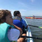 An amazing kayaking trip with my Brice and nephew.  Our guide Nolan was very knowledgeable about
