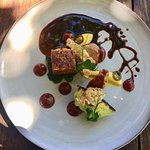 Delicious five star dishes at Foxcroft