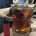 decent size of tea serving