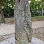 """Skulptur """"Die Eule"""""""