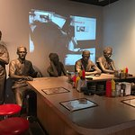 Lunch counter sit in scene shows the brutality they endured