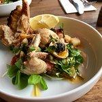 Special seafood salad