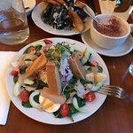 Indonesian Gado Gado Salad and Mussels