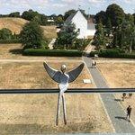 耶靈墓地、古北歐石刻和教堂照片