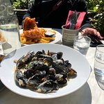 Fish and chips & Mussels