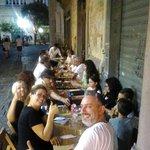 Una serata di Luglio, all'aperto qui da noi:-):-):-)