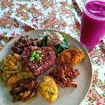 Foto van Wulan Vegetarian Warung