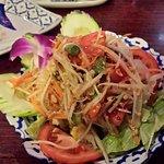 The Som Tum (Papaya Salad)