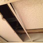 Bathroom ceiling...