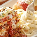 Tour of Italy Dish at Olive Garden