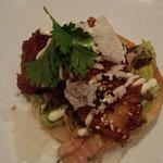 Shrimp Tostada - so, so, so good!