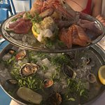 Seafood platter is a must have!