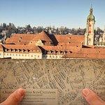 Der alte Stadtplan hilft weiter