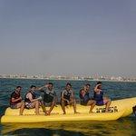 All aboard the banana boat