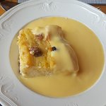 My Bread and Butter Pudding with Custard