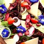 Octopus Grill, healthy and delicious menu