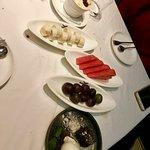 set menu dessert