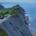 Saliente en la costa frente ermita