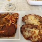 The best chicken parmigiana in the island