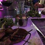 The most delicious lamb rack at the restaurant Le Piment, Saint Martin