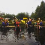Hen party rafting