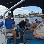 Great boating in route to Evie's Spanish Pointe