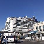 Stazione marittima: parking y crucero