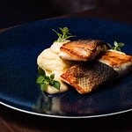 Seabass with mashed potatoes