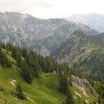 Аммерские горы - природный заповедник - вид с Тегельберга