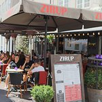 Zirup is ready to serve you for food and drinks in the sun!