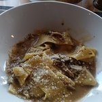 Pappardelle to die for! Super delicious and creamy!