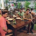 Friends on dine at Tandoori Flames