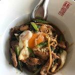 pork noodles-specialty of the restaurant