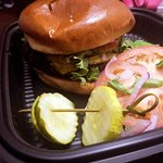 burger for takeout