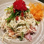 Neptuno Salad? Its fresh Wakame and Crab flavors mix up together to make for an amazing dish!