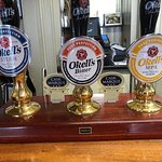 Good selection of Okells beers on tap