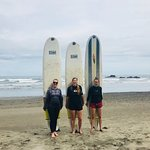 We are ready to surf!