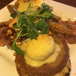 Soft Shell Maryland Crab Eggs Benedict