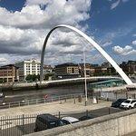 Photo of Gateshead Millenium Bridge