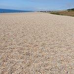 Vast amount of pebbles on the beach