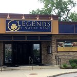 Legends of Notre Dame restaurant entrance