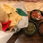 Chip/ Salsa sampler