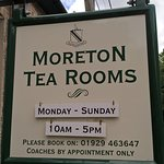 Entrance to Tea Rooms