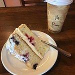 Cake and coffee!